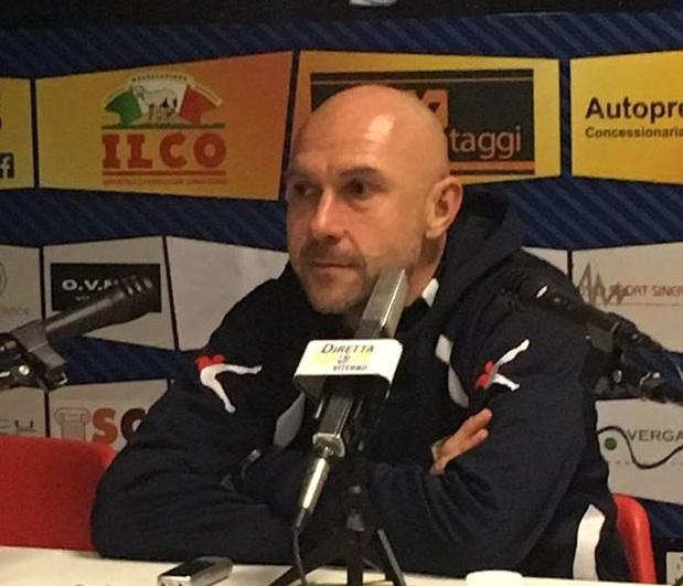 """Mister Sottili: """"A Carrara sarà una vera battaglia. Loro in panca hanno un fuoriclasse"""""""