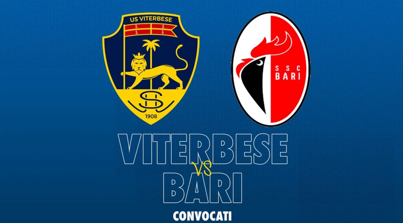 Viterbese-Bari: i convocati di Maurizi EZy-Watermark_10-10-2020_06-13-04PM-1170x650